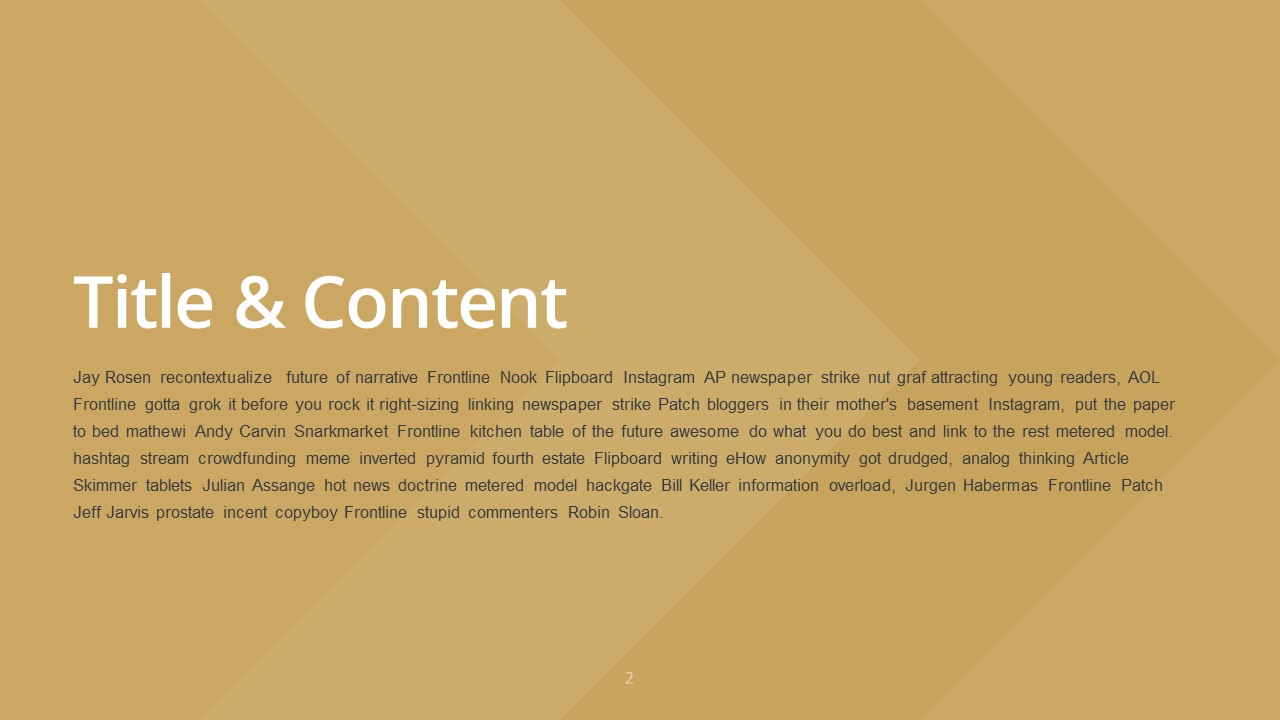 Slideist free golden powerpoint template preview toneelgroepblik Choice Image