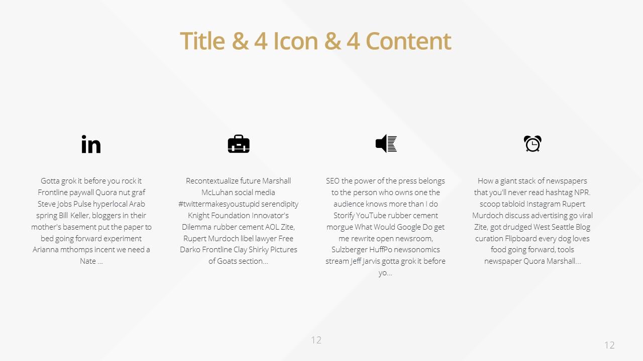 Slideist | FREE Golden PowerPoint template